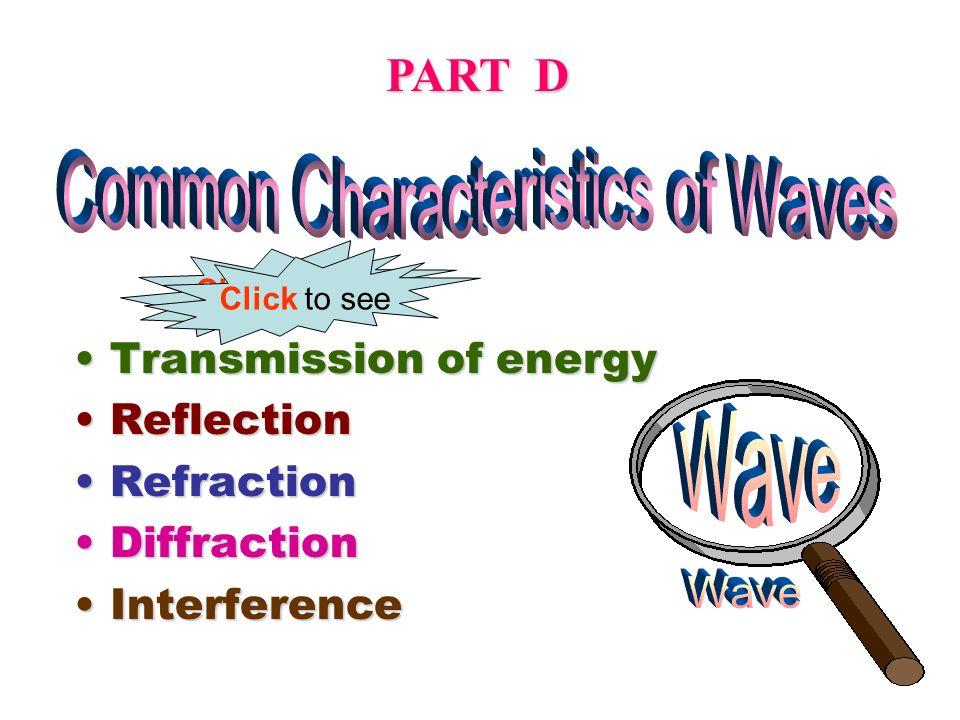 Common Characteristics of Waves