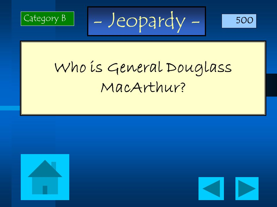 Who is General Douglass MacArthur