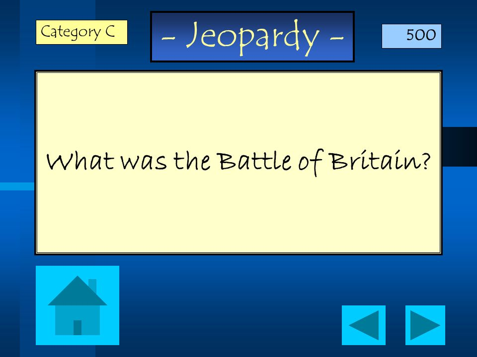 What was the Battle of Britain