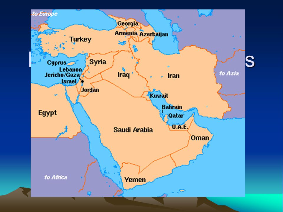 Major Physical Features of Southwest Asia ppt video online download