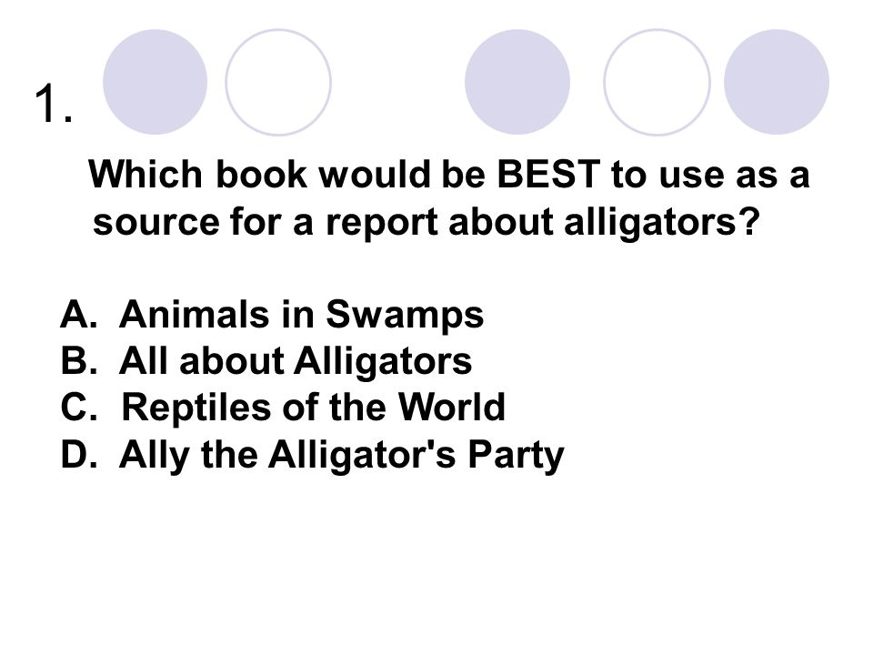 1. Animals in Swamps All about Alligators Reptiles of the World
