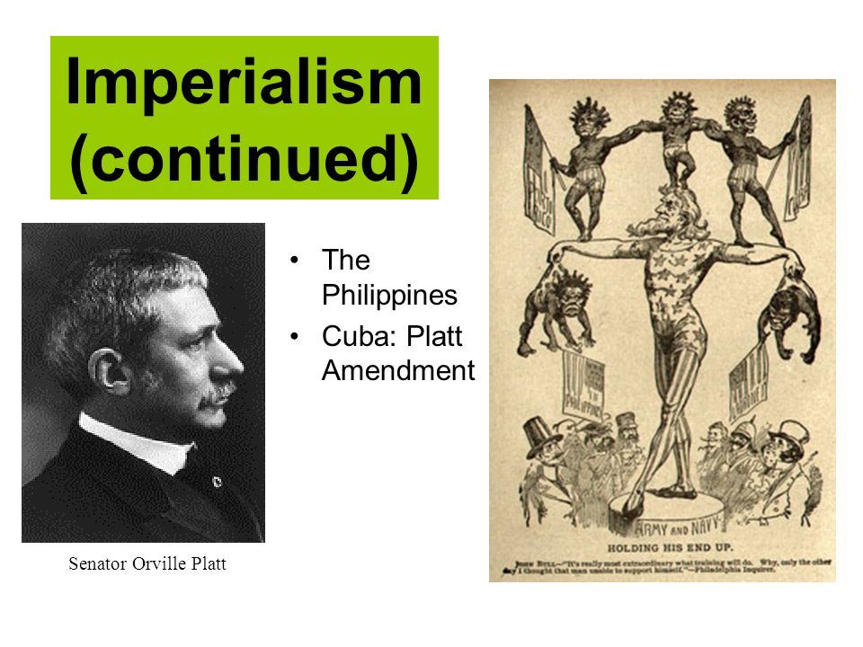 Imperialism (continued)