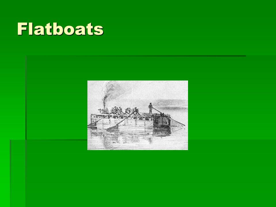 Flatboats