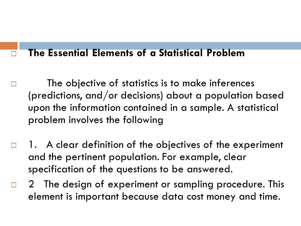 An Overview of Statistics - ppt download