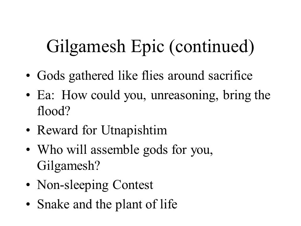gilgamesh the bible serpent Genesis 3:1 presents the serpent simply as an animal  in the gilgamesh epic,  the magical plant that would have rejuvenated gilgamesh was.