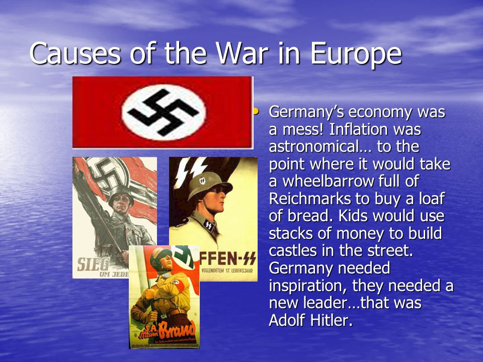 Causes of the War in Europe