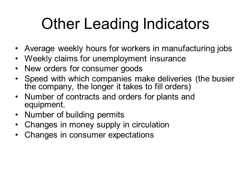 Other Leading Indicators