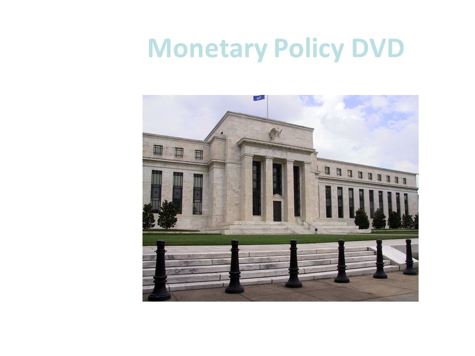 Monetary Policy DVD