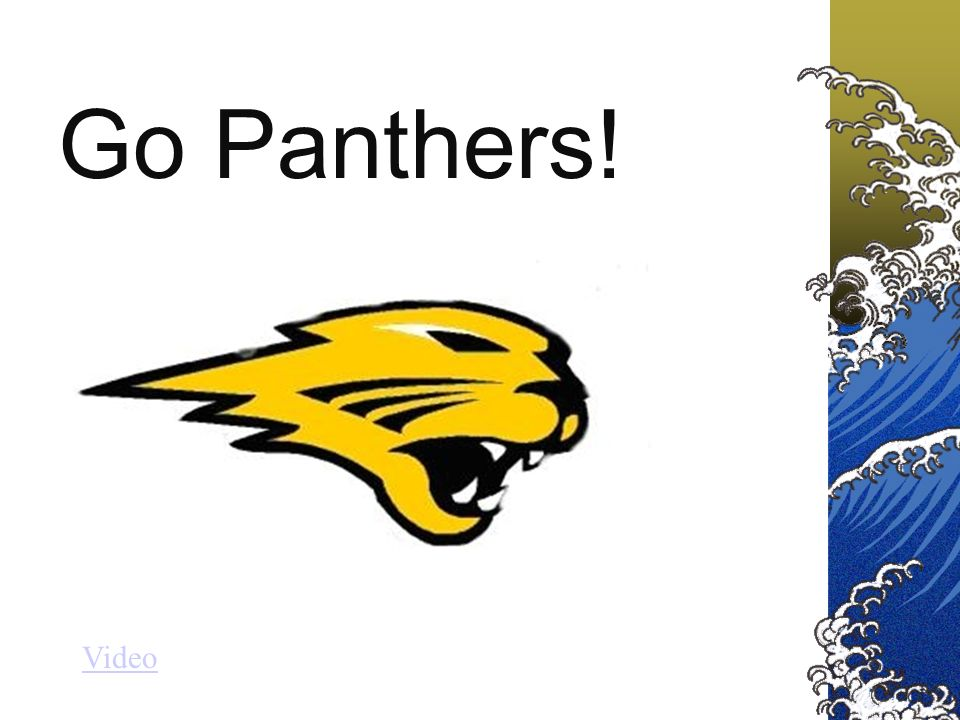 Go Panthers! Video