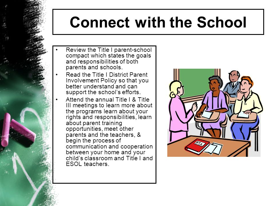 Connect with the School