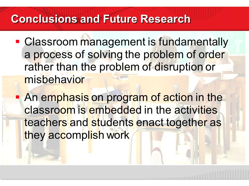 Research Design On Classroom Management : Ecological approaches to classroom management ppt video