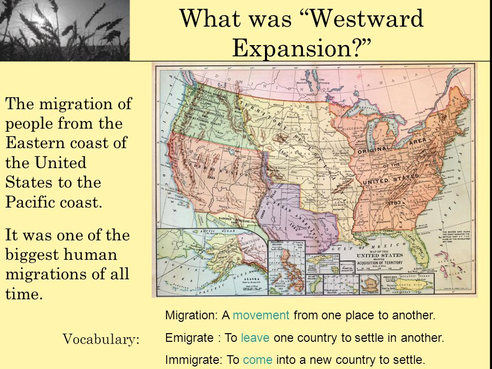 What was Westward Expansion