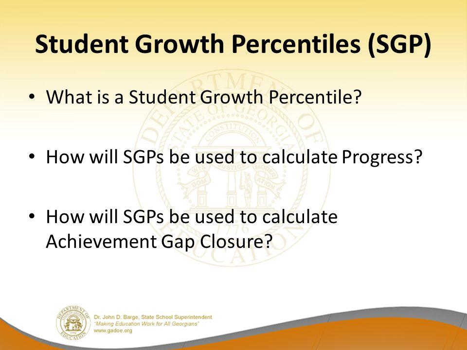 Student Growth Percentiles (SGP)