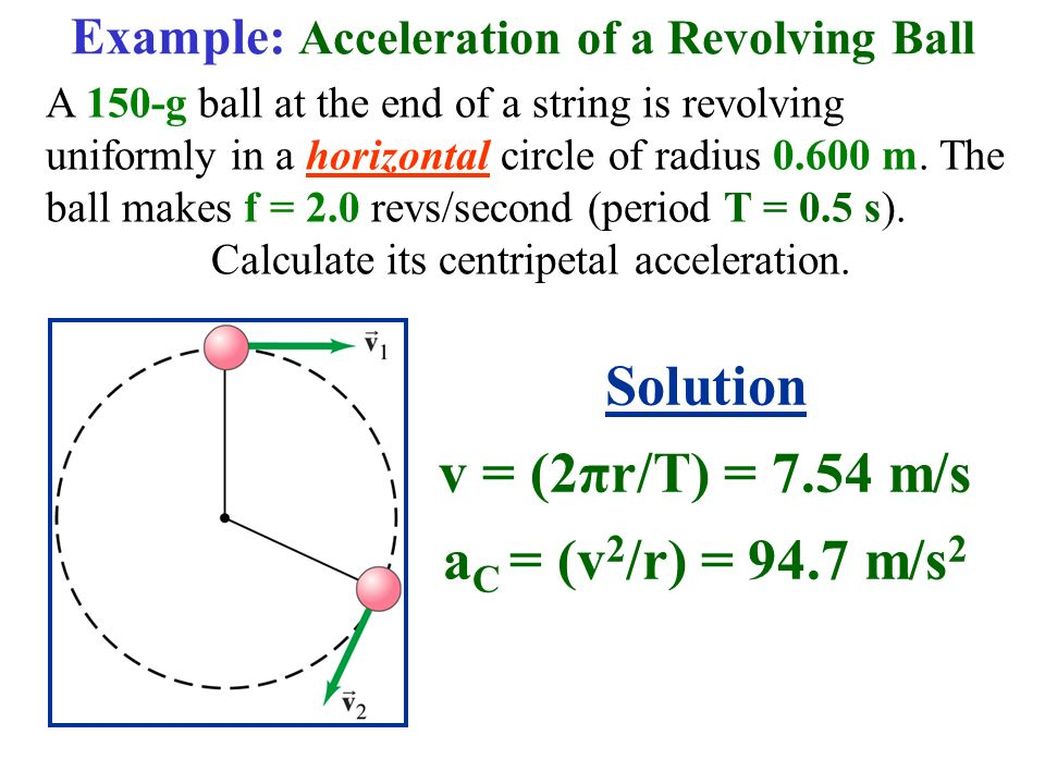 how to find magnitude of centripetal acceleration