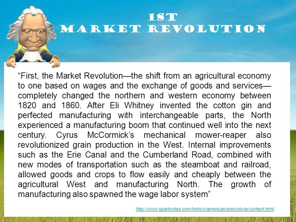 1st Market Revolution