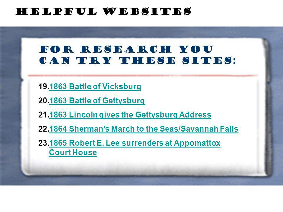 For Research you can try these sites: