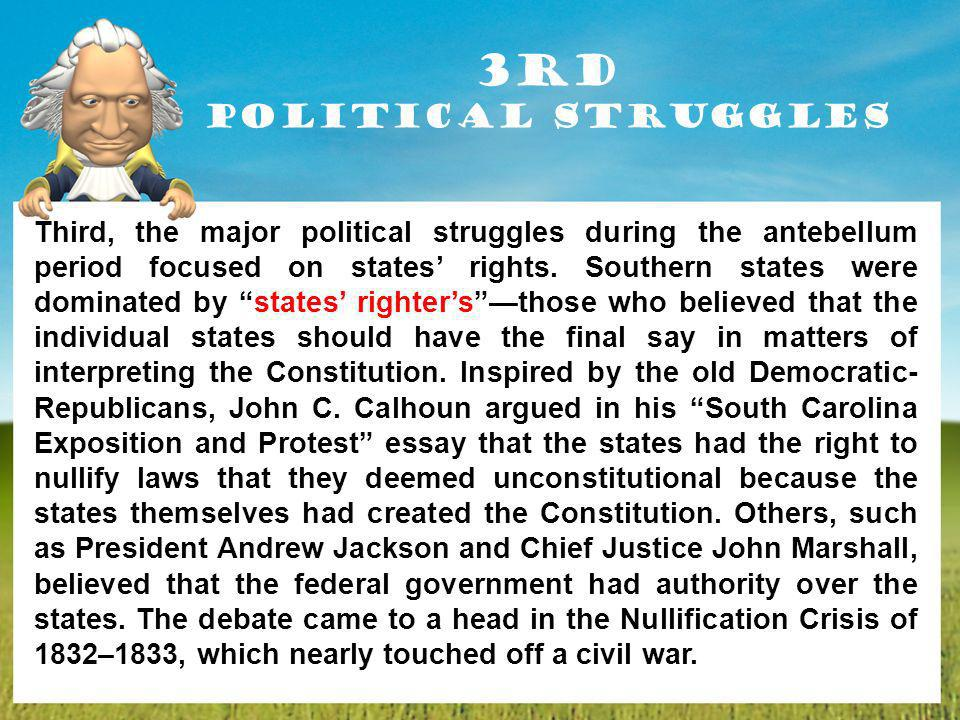 3rd Political Struggles
