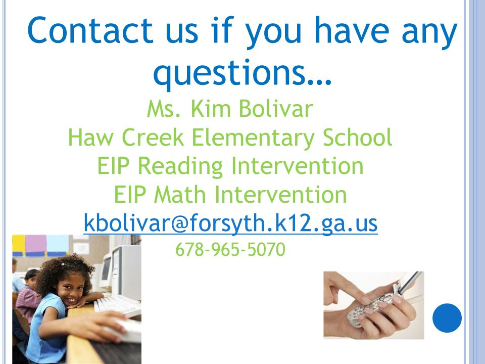 Contact us if you have any questions…