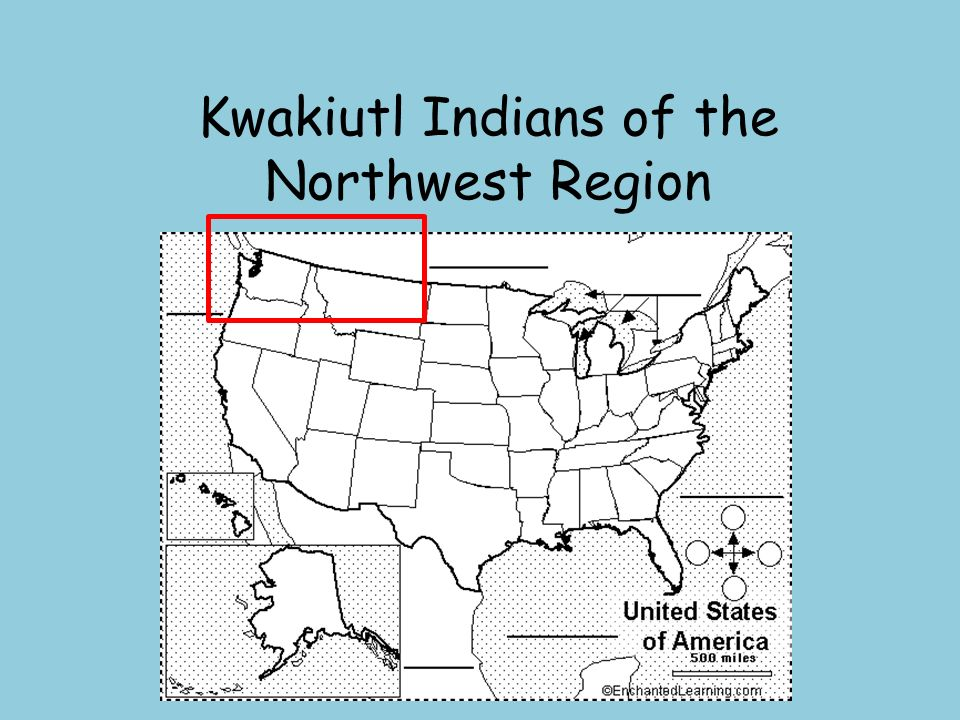 Kwakiutl Indians of the Northwest Region