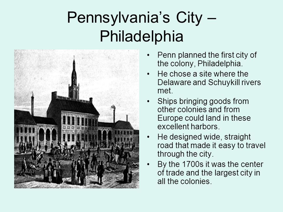 Pennsylvania's City – Philadelphia