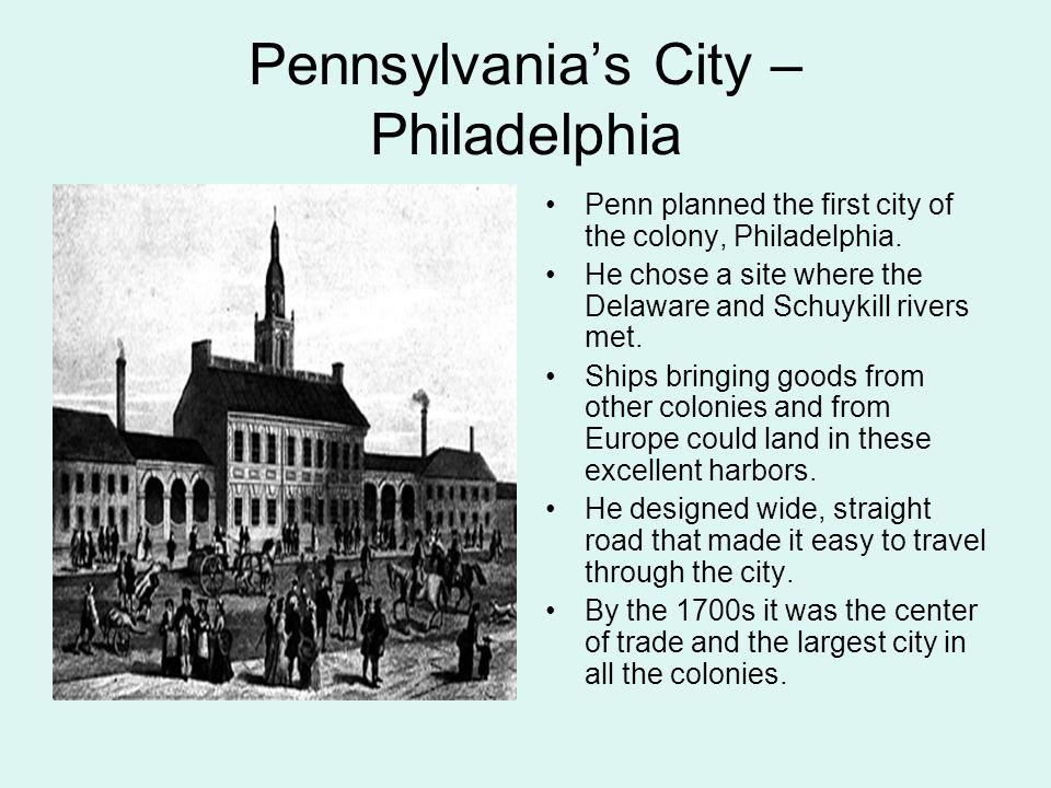 Pennsylvania's City – Philadelphia