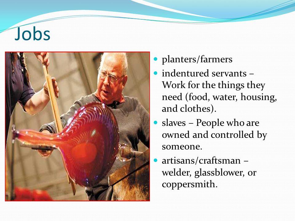 Jobs planters/farmers