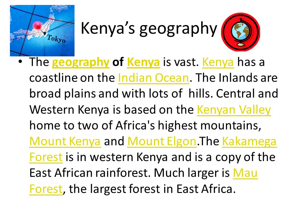 Kenya's geography