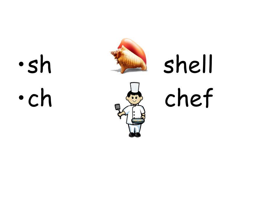 sh shell ch chef