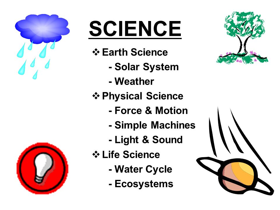 SCIENCE Earth Science - Solar System - Weather Physical Science