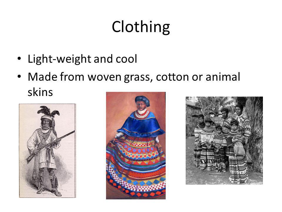 Clothing Light-weight and cool