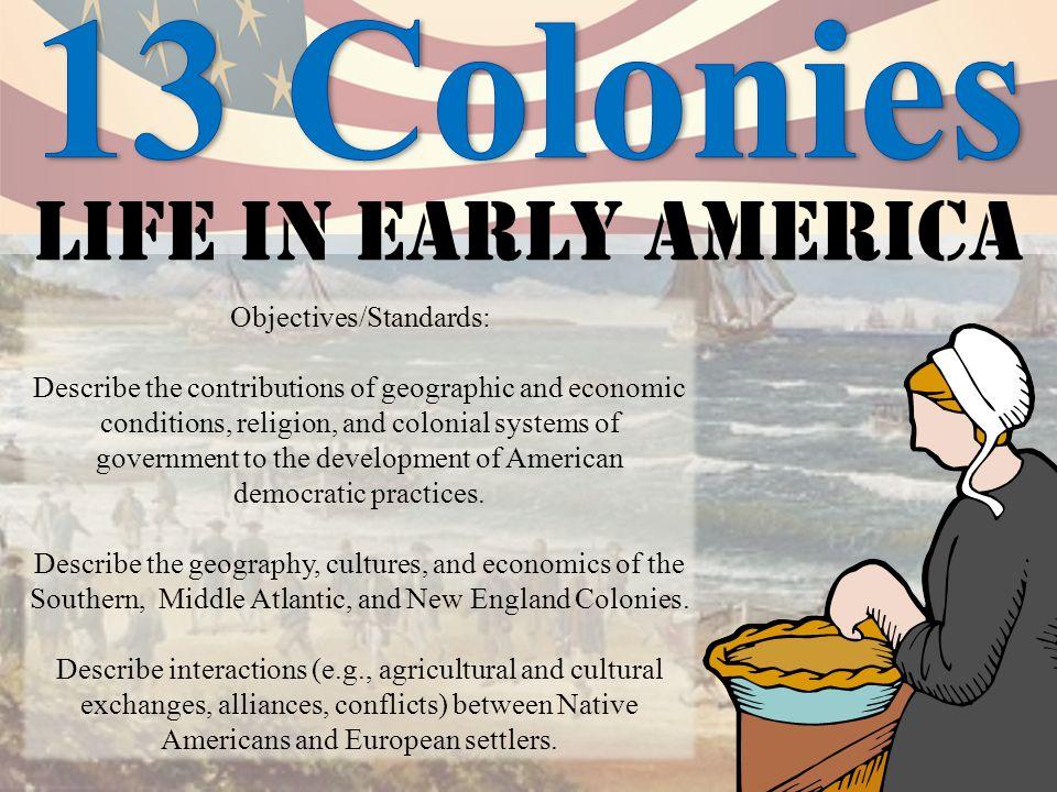 Economics in colonial america