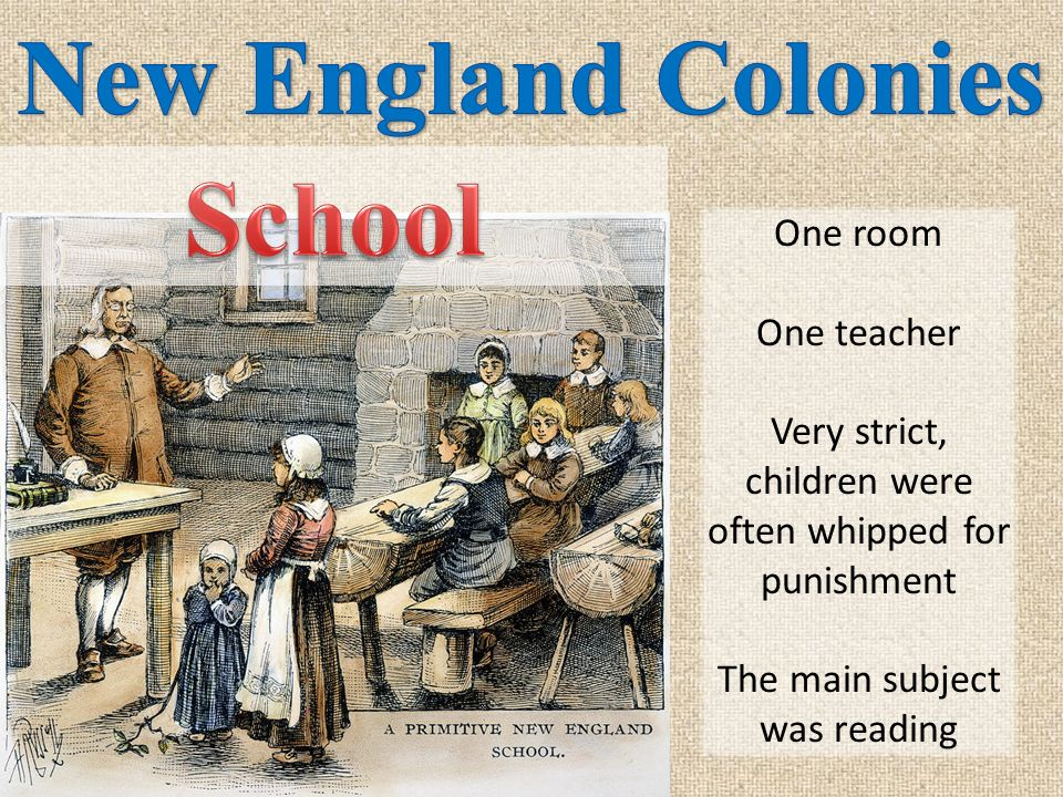 New England Colonies School