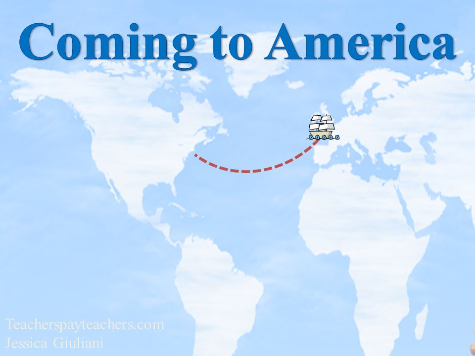 Coming to America Teacherspayteachers.com Jessica Giuliani