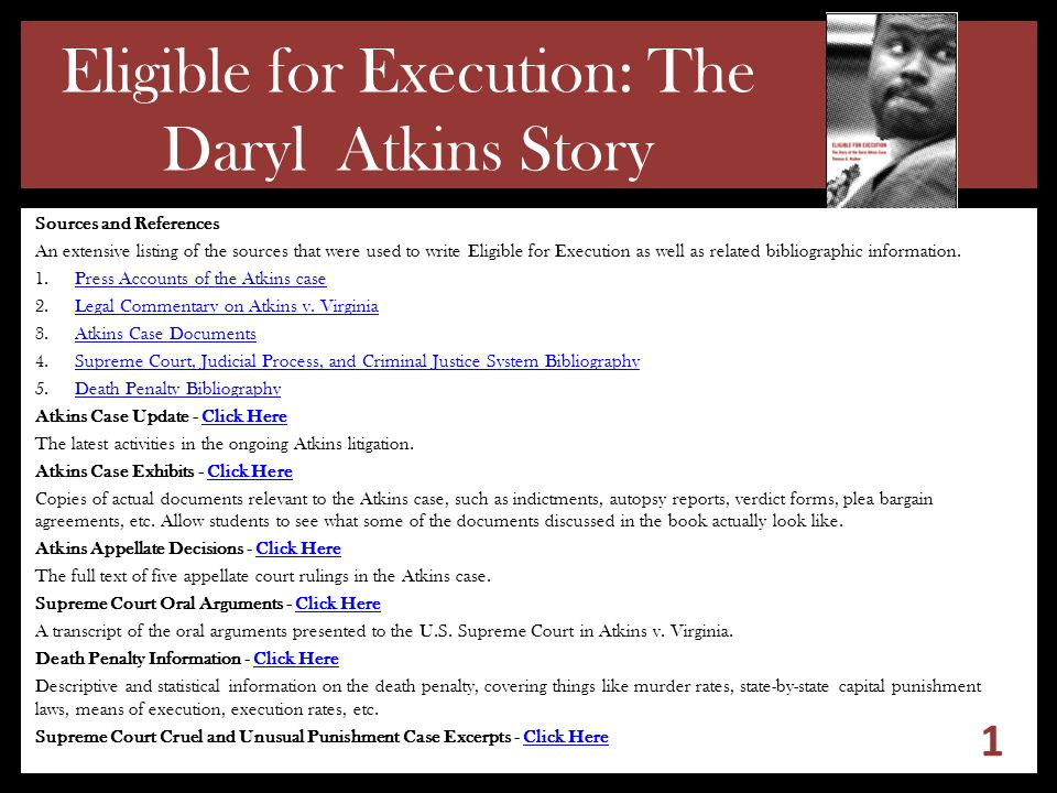 a report on the process of capital trial arrest to execution This paper provides a brief history of the death penalty in north carolina, a  snapshot of the death penalty today, and an overview of the steps in a capital  case the history of the  a capital case begins with a murder and an arrest the  first.