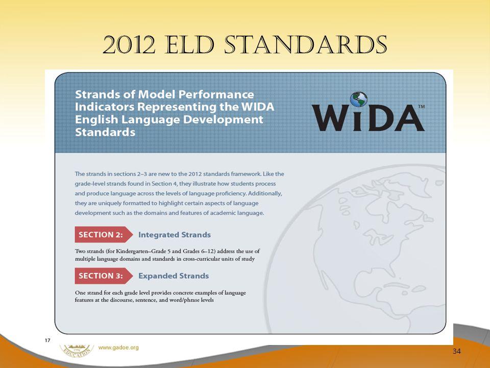 2012 ELD Standards