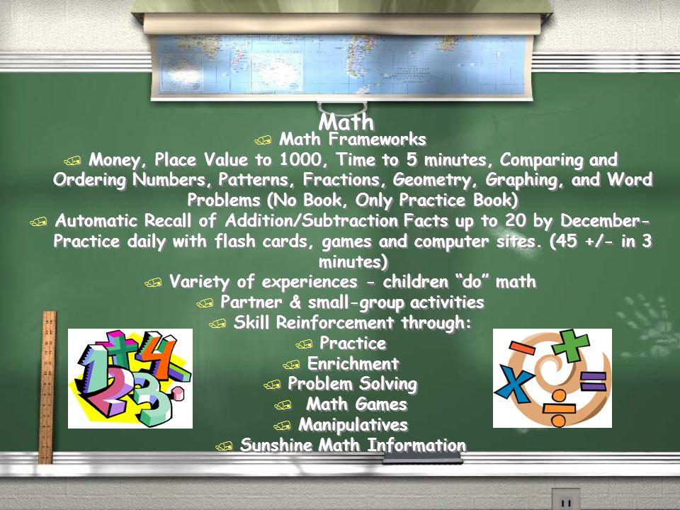 Math Math Frameworks.
