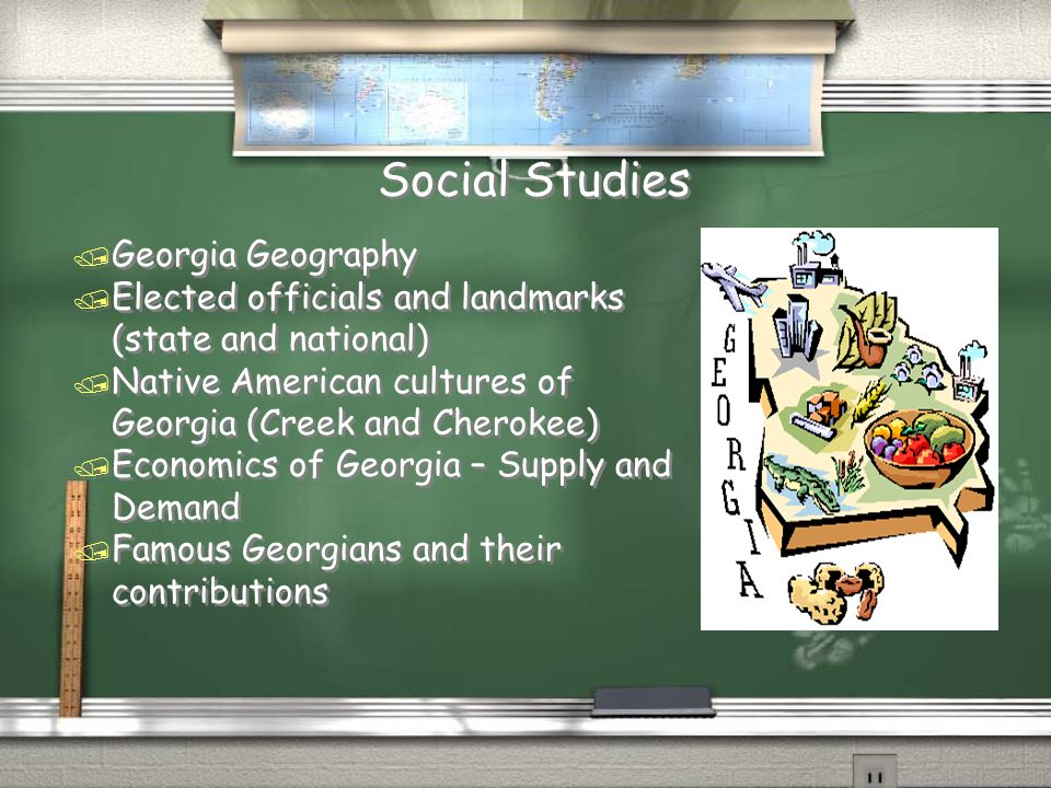 Social Studies Georgia Geography