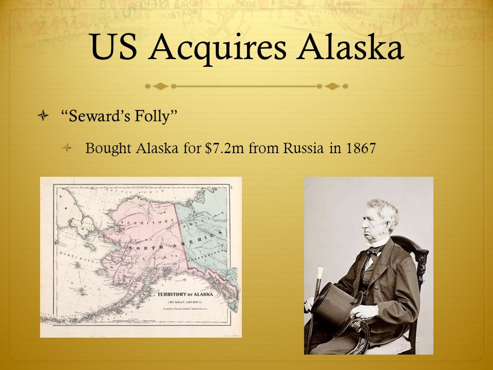Imperialism And America Ppt Download - Us map after sewards folly