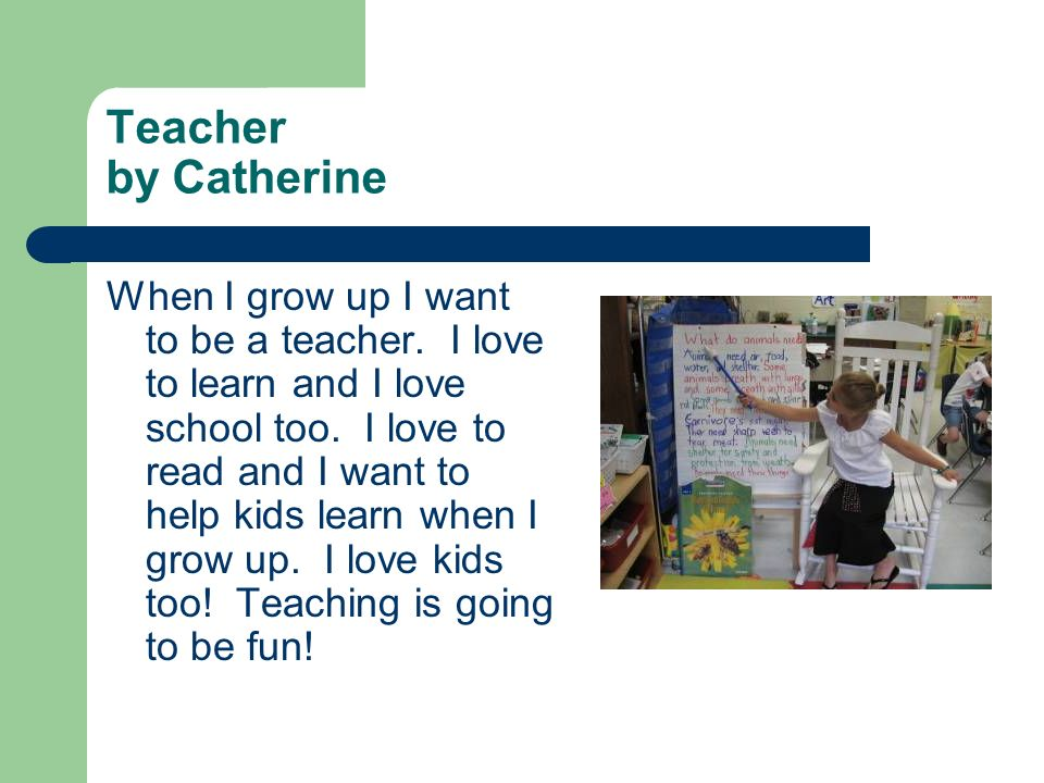 Teacher by Catherine