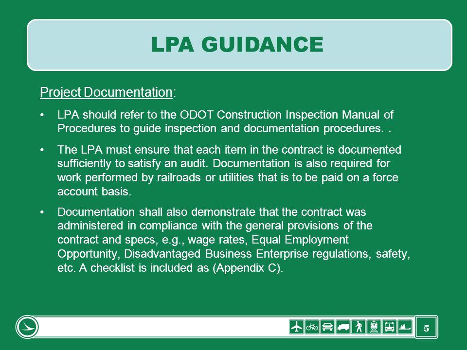 LPA GUIDANCE Project Documentation: