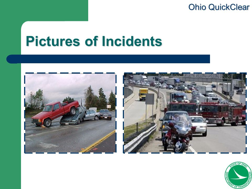 Pictures of Incidents The picture on the left shows a 75 car pileup in Atlanta, GA