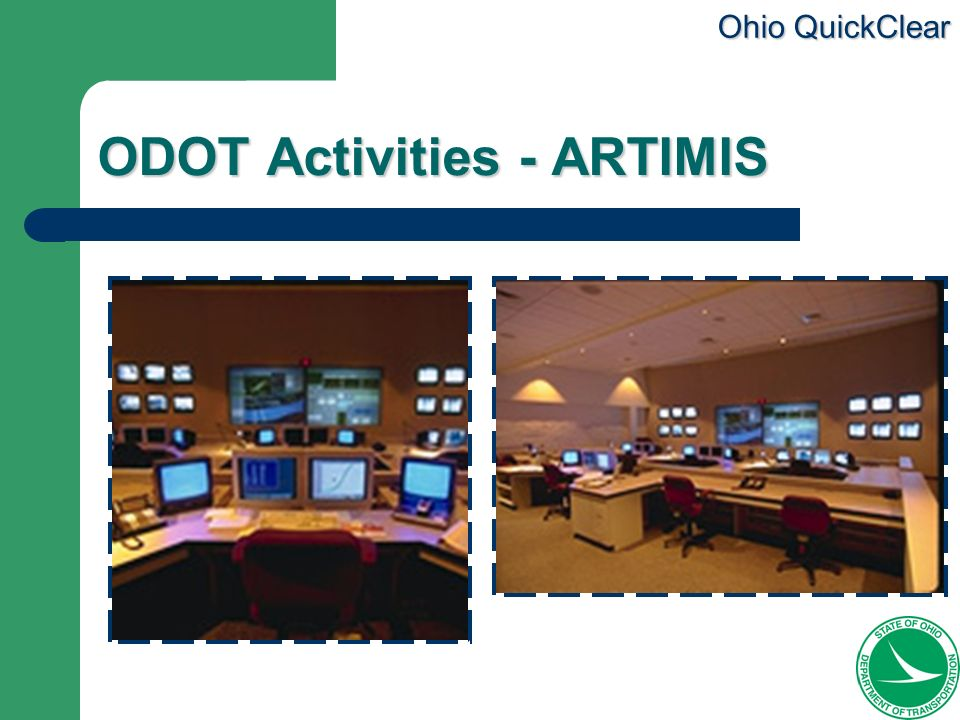 ODOT Activities - ARTIMIS
