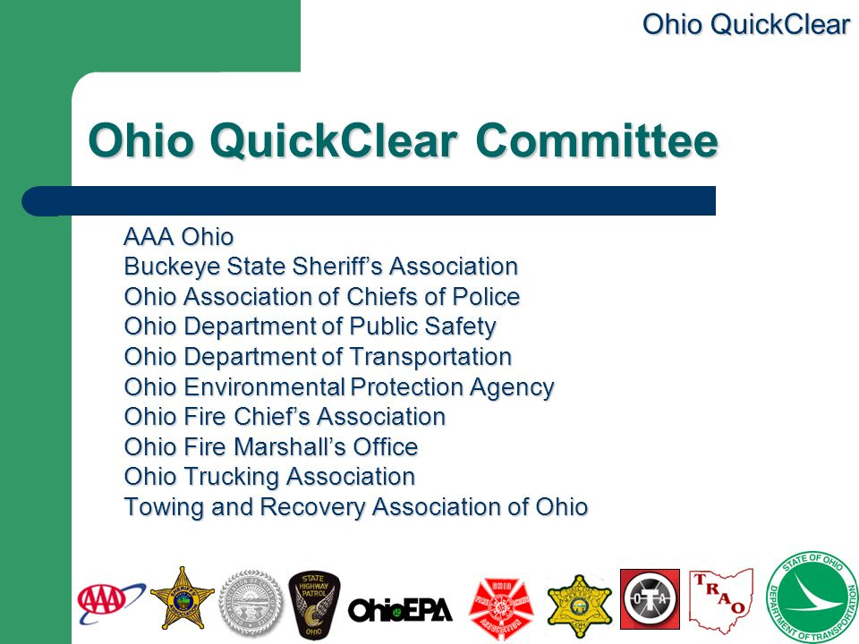 Ohio QuickClear Committee
