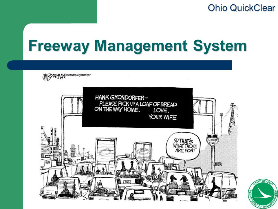 Freeway Management System