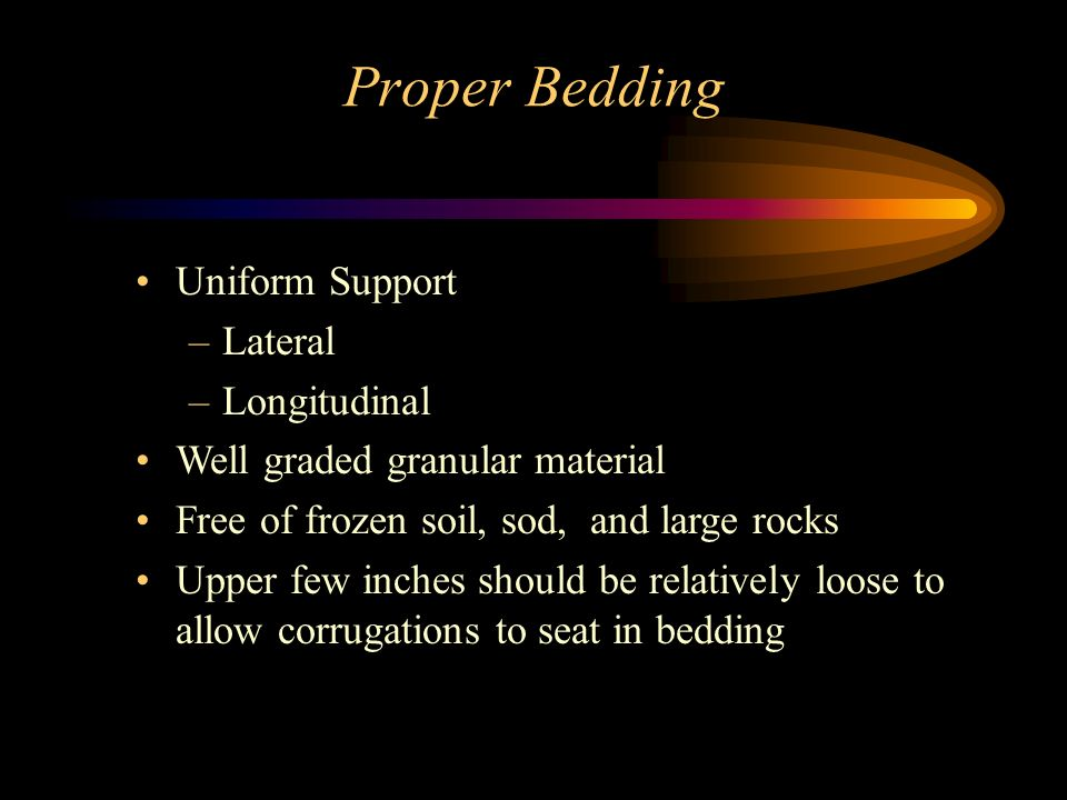Proper Bedding Uniform Support Lateral Longitudinal
