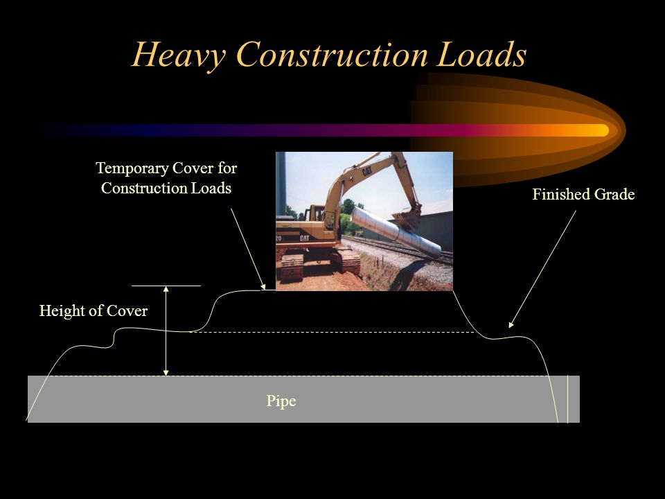 Heavy Construction Loads