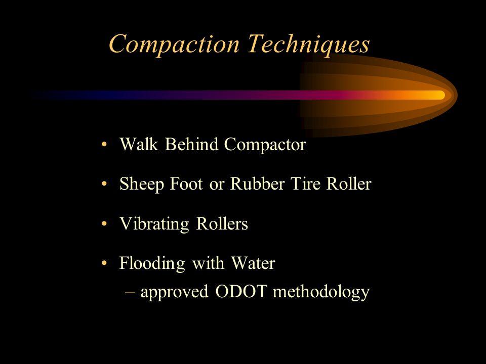 Compaction Techniques