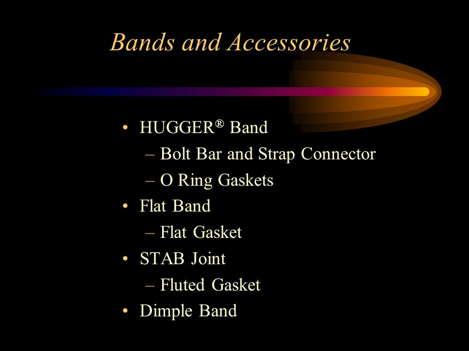 Bands and Accessories HUGGER® Band Bolt Bar and Strap Connector