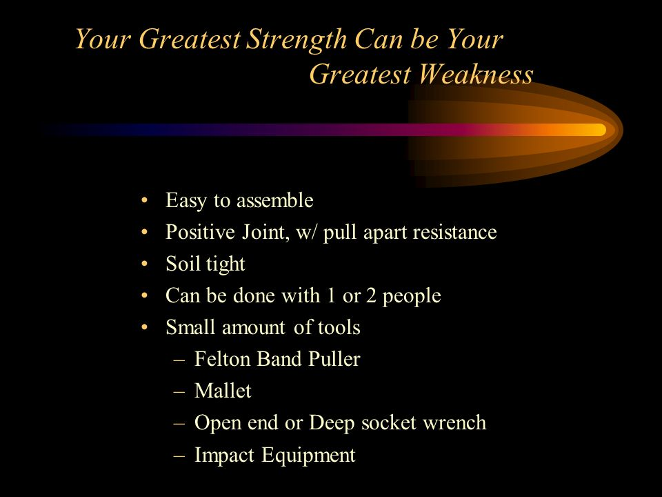 Your Greatest Strength Can be Your Greatest Weakness
