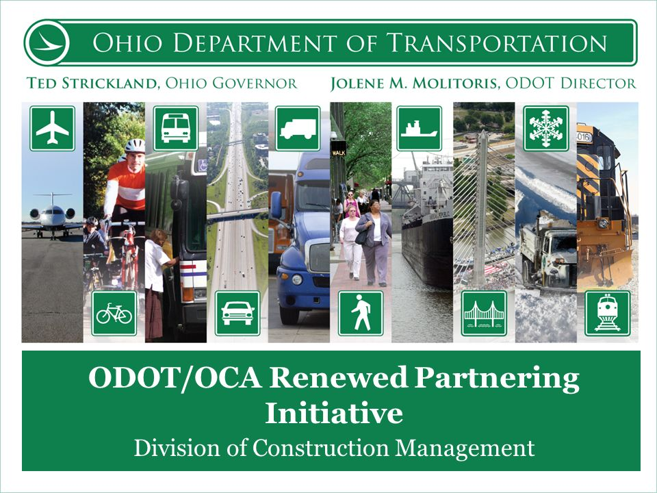 ODOT/OCA Renewed Partnering Initiative